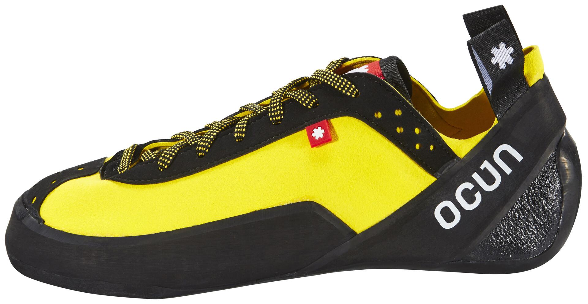 Ocun Klettergurt Review : Ocun crest lu climbing shoes green campz